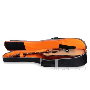 Image 3 - משלוח חינם 41 אינץ גיטרה אקוסטית תיק 36 אינץ נסיעות גיטרה מקרה 43 אינץ עממי גיטרה תיק כיסוי 42 אינץ כפול רצועת גיטרה תיבה