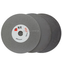 """3Pcs 4"""" inch Grit 400 1200 3000 Fine Electroplated Diamond Grinding Disc Wheel Coated Flat Lap Disk Arbor 5/8"""" for Angle Grinder"""