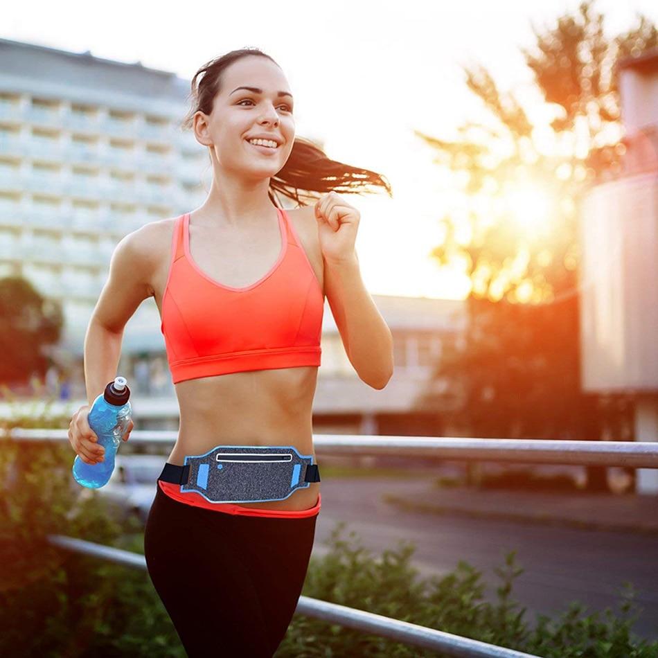 1 PC Ultralight Outdoor Running Bag Men Women Trail Waist Sport Mobile Phone Holder Belt Sport Accessories Lady Fitness Gear 9