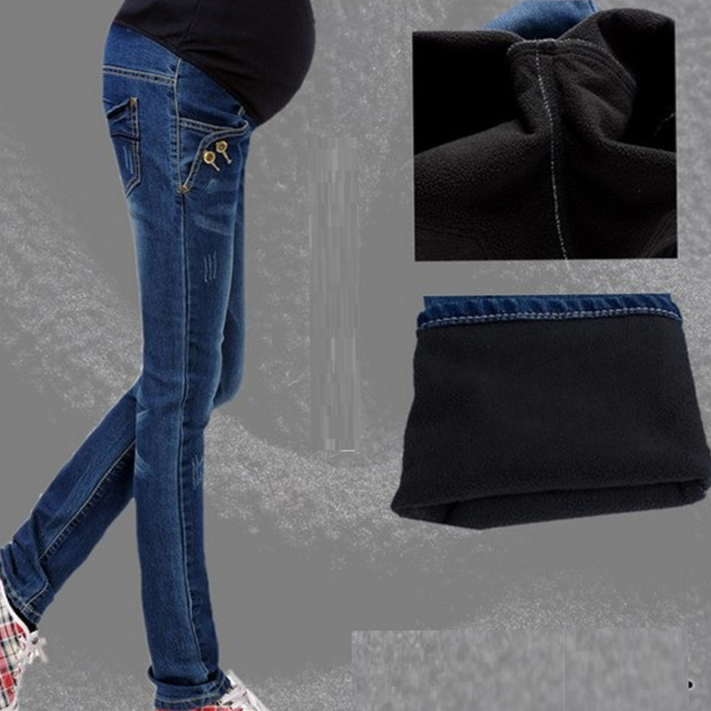 2017 Maternity Jeans For Pregnant Woman Stretch Maternity Pencil Pants Trousers for Pregnancy Y881 jeans men 2016 plus size blue denim skinny jeans men stretch jeans famous brand trousers loose feet pants long jeans for men p10
