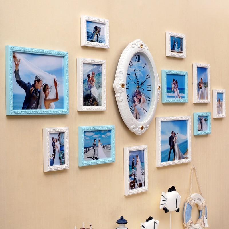 Moderno y minimalista personalizados foto de la boda pared cuadro de ...