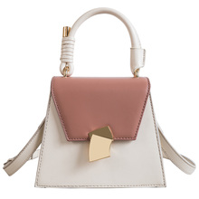 New Fashion Women Handbag Trapezoid Buckle Small Tote Bag Ladies Luxury Designer Crossbody Messenger Bags