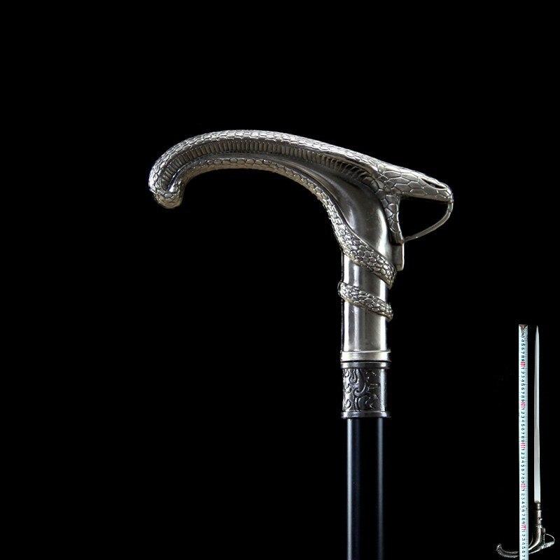 Apparecchi di auto-difesa spada di canna Può essere utilizzato come Alpinismo home decor lunghezza = 90 centimetri in acciaio inox materiale