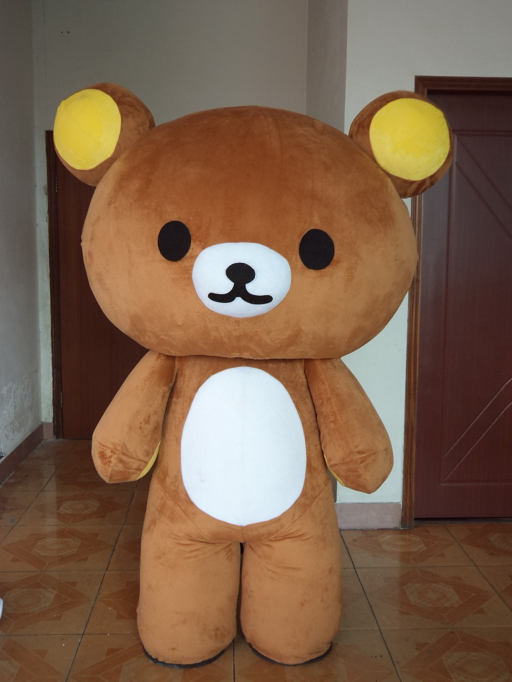Assassino        Relaxation-teddy-bear-mascot-costume-apparel