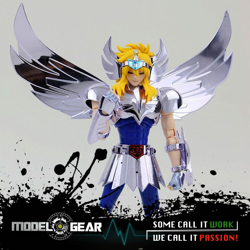 ==In-Stock== LC Models Saint Seiya Myth Cloth ex Cygnus Hyoga v1 Action Figure Helmet Bronze Toys ca