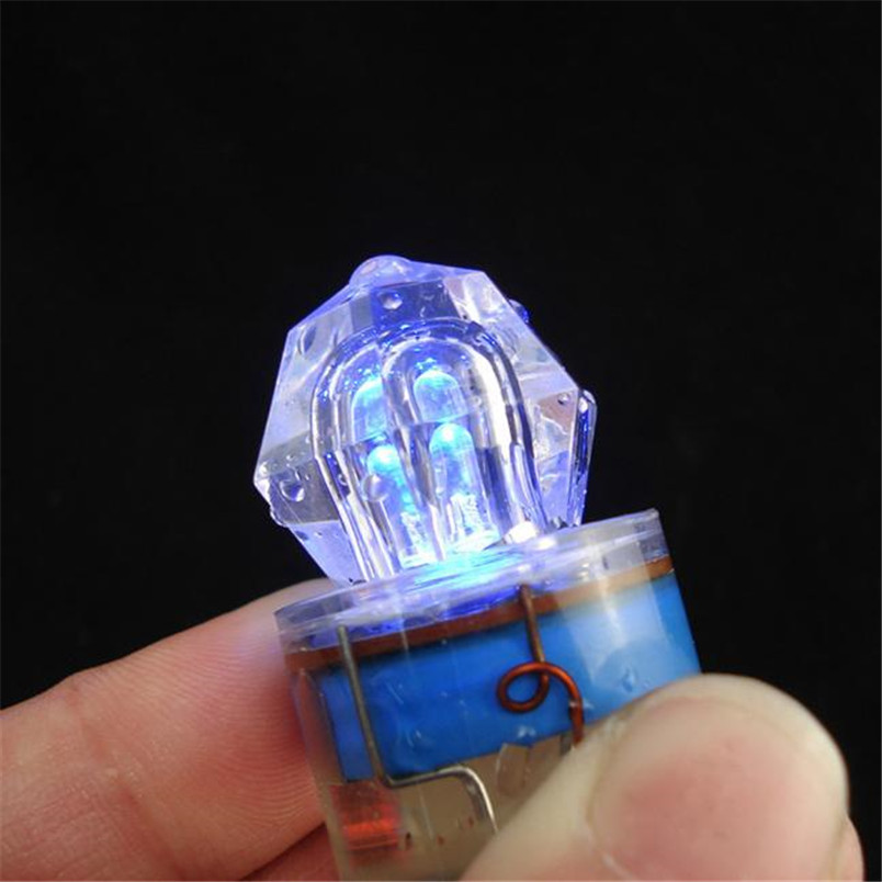 New Diamond LED Fishing Lights Underwater Deep Drop Swordfish Squid Bait Strobe Fishing Accessories Tools #4A29 (8)