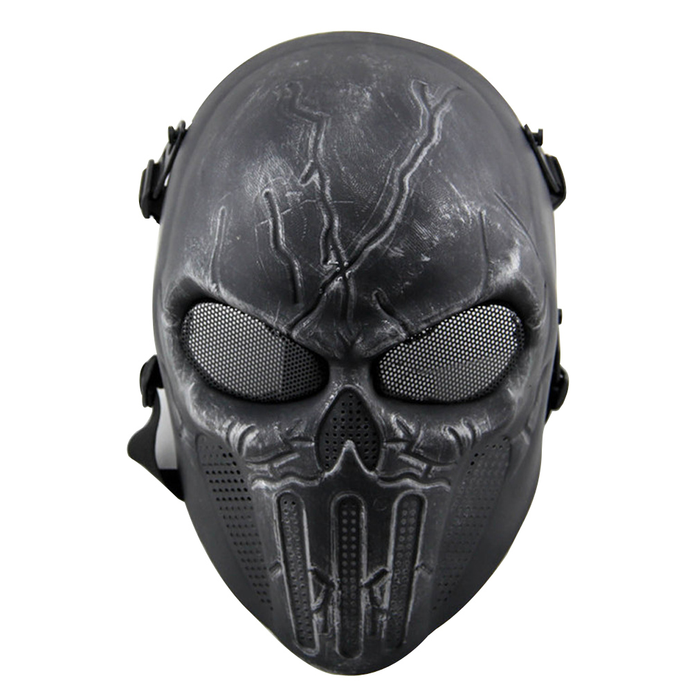 Tactical Outdoors CS War Game Mask Paintball Halloween Ear-protective Airsoft Full Face  ...