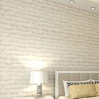 Creamy White Engel Feder Vliestapete Realistische Moderne 3D Kunst Luxus Wohnkultur Schlafzimmer Wohnzimmer Hintergrund