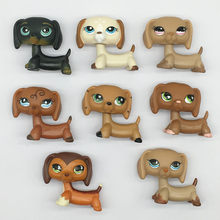 Lps pet shop toys cute dachshund series pubby dog lps mini action figure preschool children's toys best gift novelty toys(China)