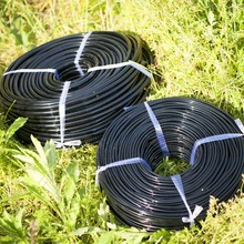 High Quality 25M  4/7MM Black Micro Irrigation Pipe Water Hose Drip Watering Sprinkling Home Garden for Drip Arrow
