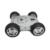 O envio gratuito de Carga Máxima 20 KG de liga de alumínio Cheio chassis robô 4wd robô smart car chassis