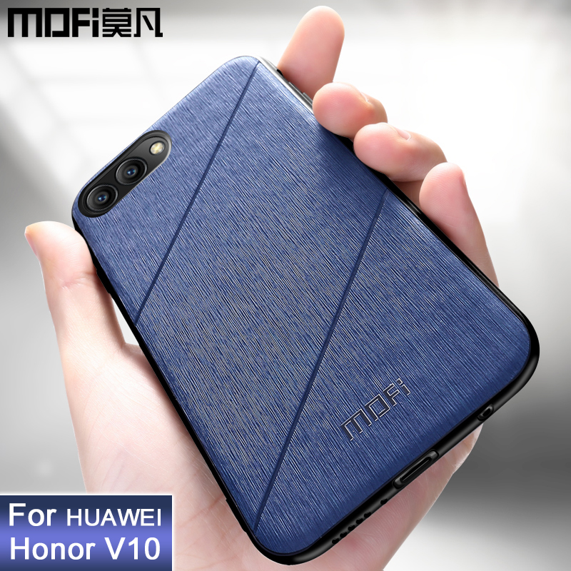 MOFi original for Huawei honor View 10 case honor v10 back cover shockproof luxury phone case business coque capas view10 case image