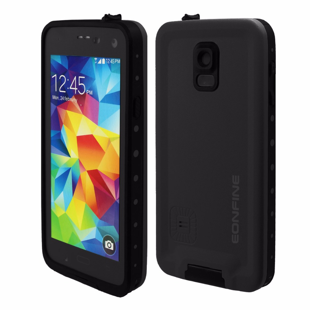 super popular a6a43 a7850 US $6.99 |EONFINE For Samsung Galaxy S5 Waterproof Case Shockproof Cover  Transparent 360 Full Protection For Samsung S5 Case Swimming-in Fitted  Cases ...