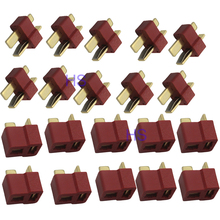 10 Pair Male and Female T Plug Dean Connector For RC Lipo Battery Helicopter
