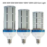 1 יח'\חבילה 2014 80 w Led תירס אור מנורת החלפת CFL 250 W 8000lm, E27 e40 E39 חיסכון באנרגיה החלפת חום מצוינת