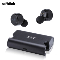 X2T Mini True Wireless Bluetooth Earphones TWS Stereo Earbuds Twins Headset X1T Upgrade Version Earpiece With