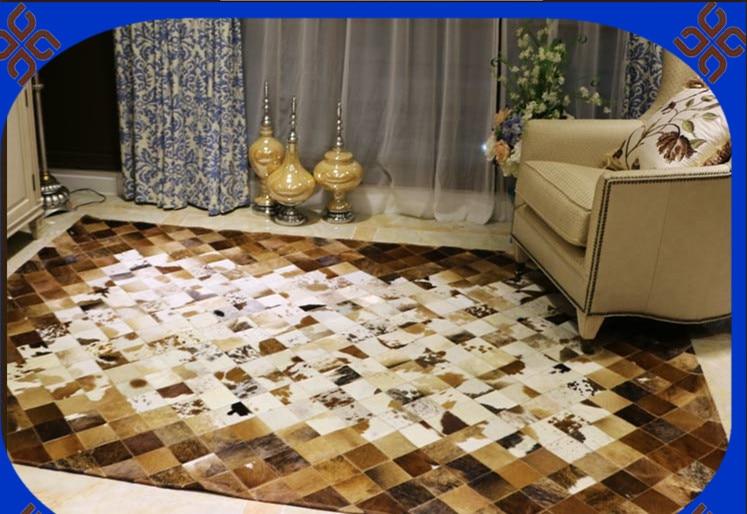 Fashionable art carpet 100% natural genuine cowhide leather mosque prayer carpetFashionable art carpet 100% natural genuine cowhide leather mosque prayer carpet