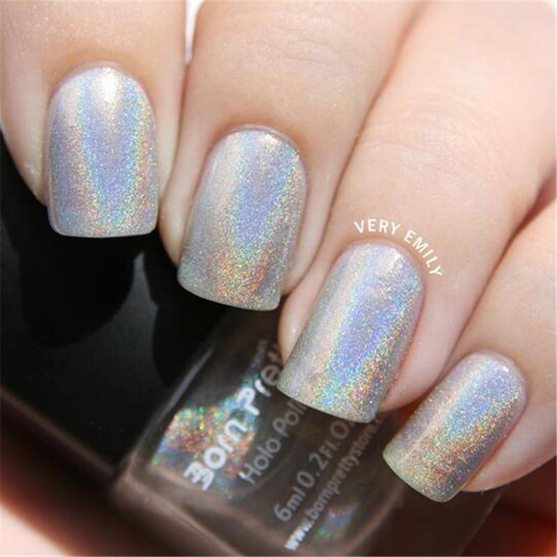 Aliexpress.com : Buy 1 Bottle 6ml Holographic Holo Glitter Nail ...