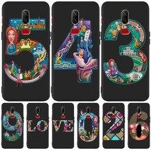 Luxury flower marvel cartoon Custom For One plus 5 5T 7 Pro Oneplus 6 6T phone Case Cover Funda Coque Etui capinha capa shell