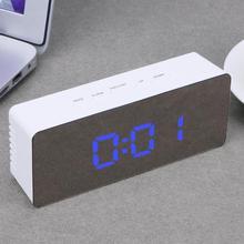Fashion Digital Table Desk Clock HD Mirror Electronic Alarm Clock Multi-function Mirror Digital Alarm Clocks with Thermometer