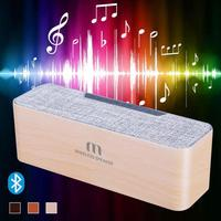 Double Speakers Quality High Wood Grain Bluetooth Speakers Bluetooth