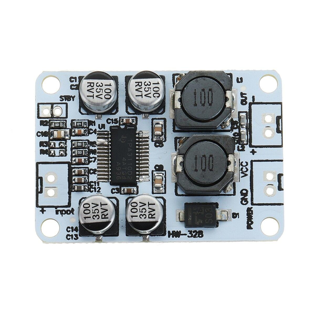 LEORY TPA3110 30W Single Channel Digital Mono Amplifier Board Digital  Amplifier Module AMP DC 8-26V
