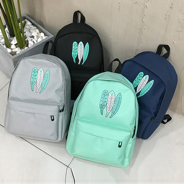 2917ed62a1 Vintage Backpacks Female School Shoulder Bags Girl Oxford Cloth School Bag  Printing Backpack Satchel Women Trave Shoulder Bag