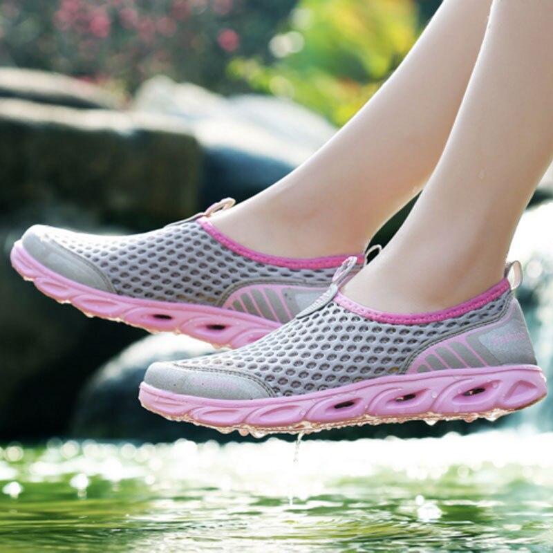 FONIRRA Verano Zapatos Casual Mujer Slip-On Plataforma Pisos Mujer - Zapatos de mujer - foto 5