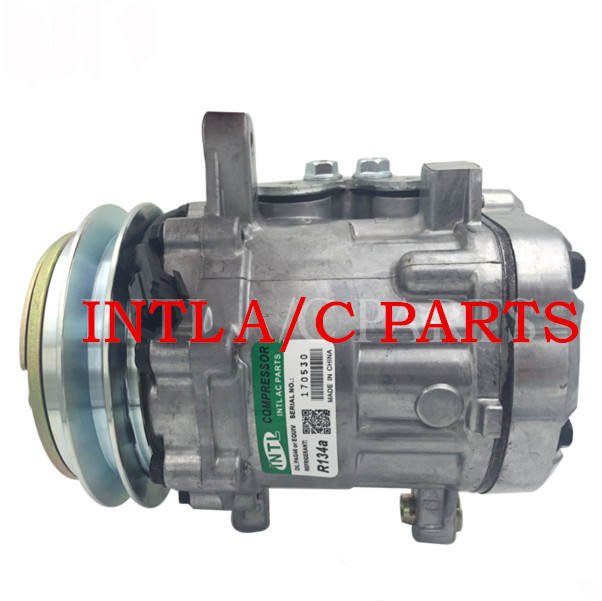 Auto Replacement Parts Practical Sd7b10 Auto Car Air Conditioning Ac Compressor For Mini Excavator For Yanmar Sanden 7189 Khr3536 4615804 22l-979-2211 029671293 Bright Luster