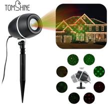 Tomshine LED Projector Lawn Lamp Light Starry Sky Christmas Spotlight Water-resistant Party Festival  Decoration Home Garden Use