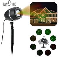 Tomshine LED Projector Lawn Lamp Light Starry Sky Christmas Spotlight Water resistant Party Festival Decoration Home Garden Use
