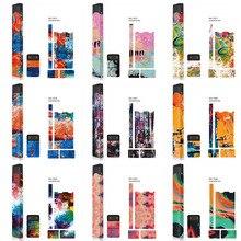 Adesivos Para Pele JUUL padrão pintura a óleo protetor 3 m adesivo de impressão de etiquetas coloridas acessórios vape OEM disponíveis