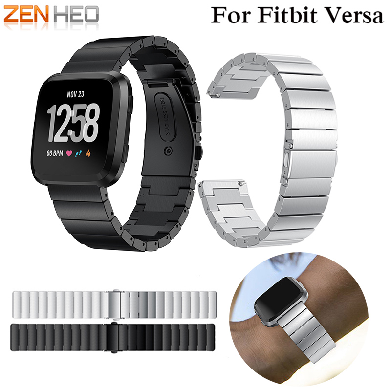 Strap For Fitbit Versa Bracelet Stainless Steel Band For Fitbit Versa Smart Accessories Elegant Soft Belt Luxury Replacement