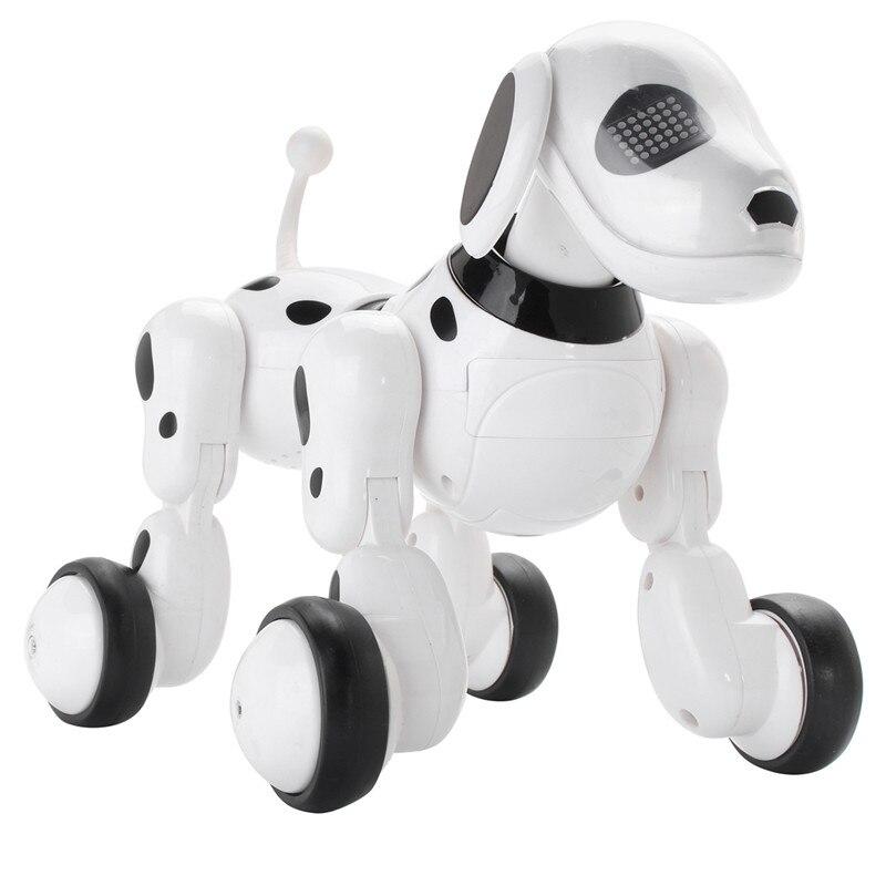 RC Smart Robot Dog Sing Dance Walking Talking Dialogue RC Pet Toy Children Gift 2018 fashion rc smart dog toy sing dance walking remote control robot dog electronic pet kids toy dropshipping
