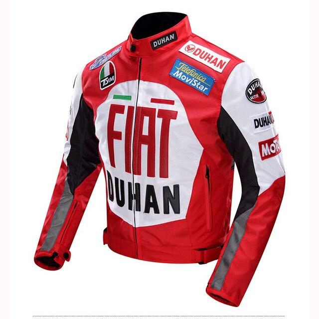 uk availability be27e 91582 DUHAN herren Winddicht Motorrad Jacken Motocross Off Road Racing Jacke  Oxford Schutz getriebe Kleidung Moto