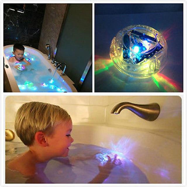 Online Shop Decorative LED LIGHT KIDS DISCO BATH LIGHT SHOW COLOUR ...