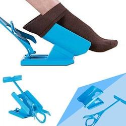 Injuries Supplies Elderly Helper Wearing Sock Aids  Unique Cradle Design  1 PC Portable Plastic Sock Slider System