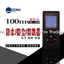 Best price 0.1m-100M 328FT Professional Handheld Laser Range Finder Distance Meter Tester Area Volume Pythagorean Measure TECMAN TM100
