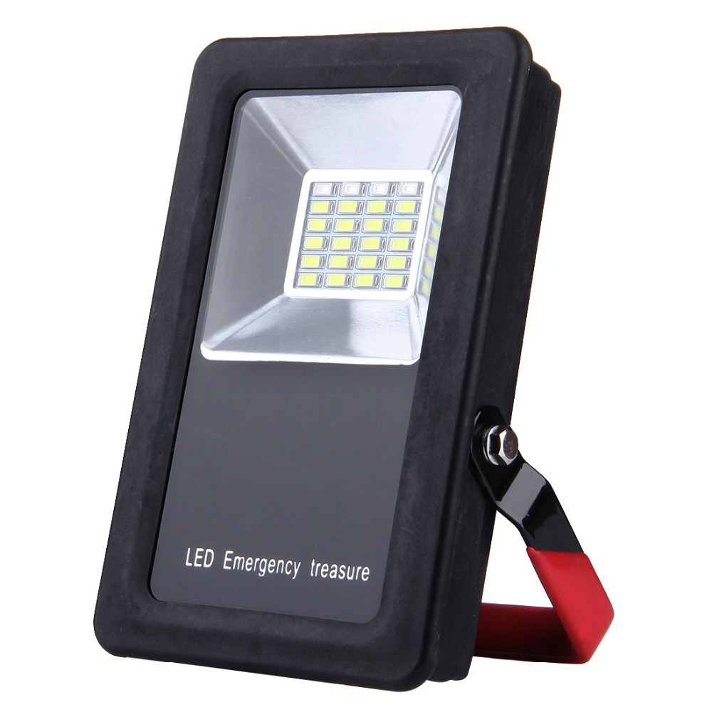 Mini Portable Floodlight 30W 24 LEDs USB Charging Battery ...