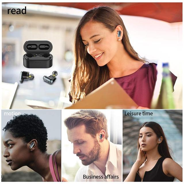 SYLLABLE S101 Strong bass TWS wireless headset noise reduction for music QCC3020 Chip of SYLLABLE S101 wireless sport Earphones 5