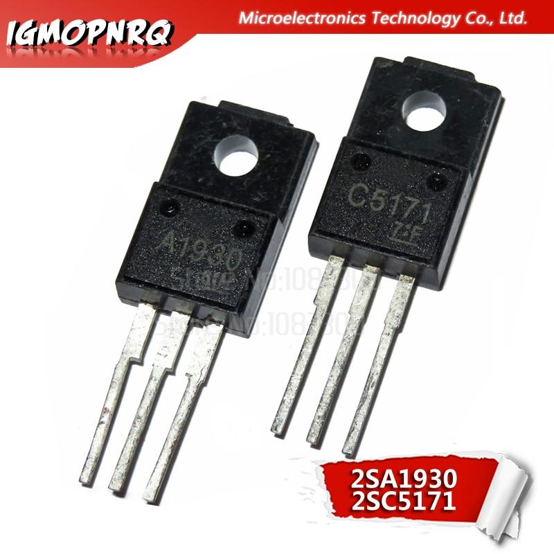 10pcs 2SC5171 2SA1930 C5171 A1930 Each 5pcs Audio Have A Fever The Tube 100% New Original Quality Assurance