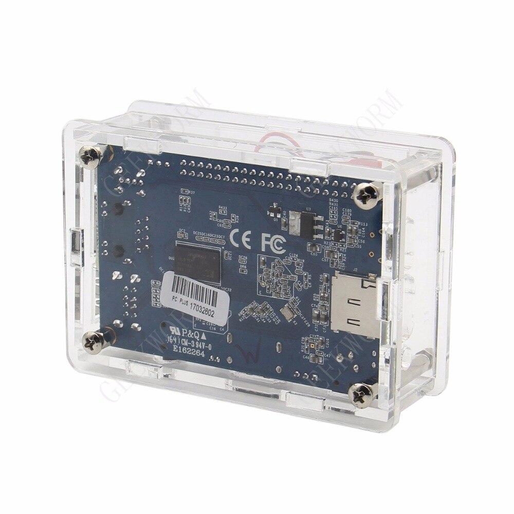 Image 3 - Orange Pi PC / PC2 / PC Plus Acrylic Case + 5V 3A EU Power Adapter + Cooling Fan + Heat Sink Start Kit Orange Pi kitorange pi kitorange pi pcorange pi pc plus -