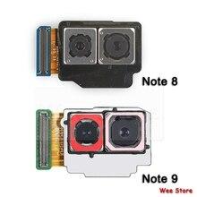 삼성 Galaxy Note 8 9 N950f N950u N950n N960F N960N N960U 메인 백 카메라 플렉스 케이블 용 오리지널 백 카메라 플렉스