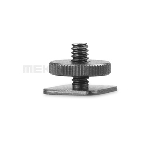 "Image 2 - 2pcs Pro Type 1/4"" 20 Tripod screw to Flash Hot Shoe Adapter for DSLR camera"