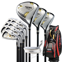 New HONMA U100 complete clubs set Driver+3/5 fairway wood+irons+putter Graphite Golf shaft Headcover Golf clubs Free shipping