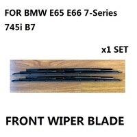 עבור BMW E65 E66 הסדרה OEM שפתוחה חלון מגב Blade סט חדש 745i B7 OE #61-61-0-442-837 חדש