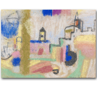 World Famous Paintings Painting Abstract Painting Picasso Abstract Wholesale IDA KERKOVIUS Landschaftskomposition Wohl 1940