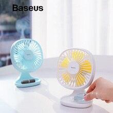 Baseus USB Gadgets Cool Fan Portable Ventiladors 3-Speed Ele