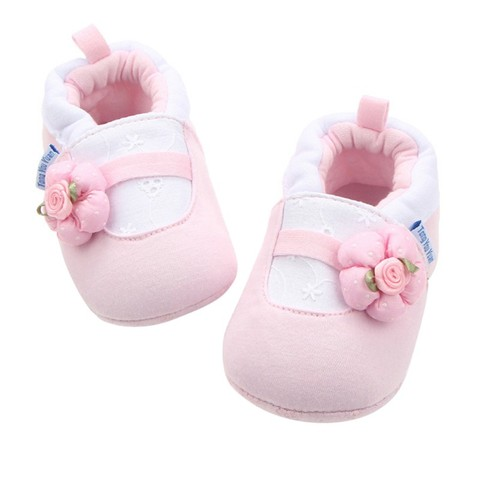 2018 New Baby Girl Shoes White Lace Floral Embroidered Soft Shoes Prewalker Walking Toddler Kids Shoes Karachi