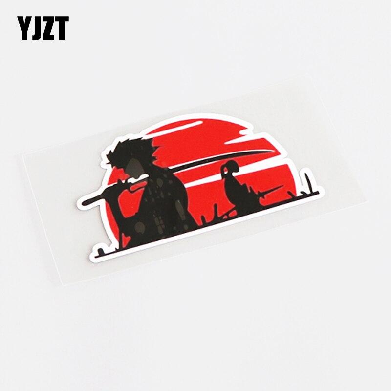 YJZT 10CM*5CM Fashion JDM Warrior Decal Car Sticker PVC Graphical 13-0641